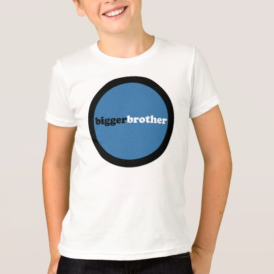Bigger Brother Blue Circle T-Shirt