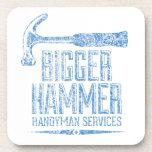Bigger Hammer Handyman Services Coasters