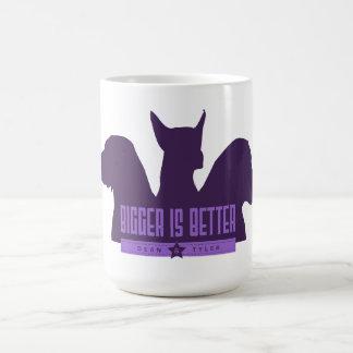 """Bigger Is Better"" Coffee Mugs"