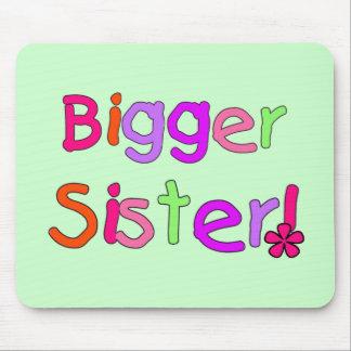 Bigger Sister Tshirts and Gifts Mouse Pad