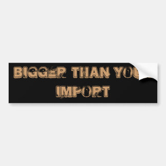 Import Car Stickers Import Bumper Stickers...