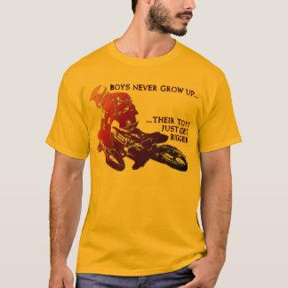Bigger Toys Dirt Bike Motocross Funny Shirt