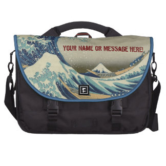 Biggest Best Quality The Great Wave by Hokusai Laptop Computer Bag