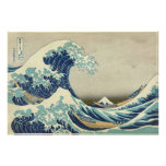 """Biggest & Best Quality """"The Great Wave"""" by Hokusai Art Photo"""