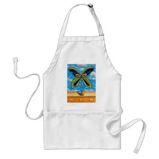 Biggest  Butterfly Adult Apron