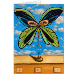 Biggest  Butterfly Card