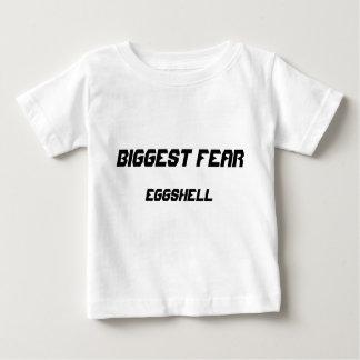 Biggest Fear: Eggshell Baby T-Shirt