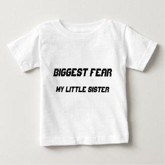 Biggest Fear:  my little sister Infant T-shirt