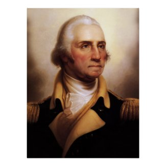 Biggest George Washington Portrait Poster