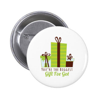 Biggest Gift Pinback Buttons