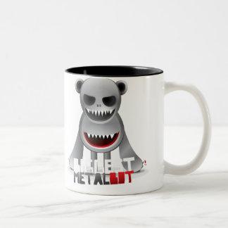 Biggest Metal Bot Two-Tone Coffee Mug