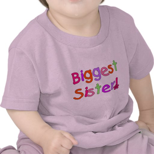 Biggest Sister T-shirts and Gifts