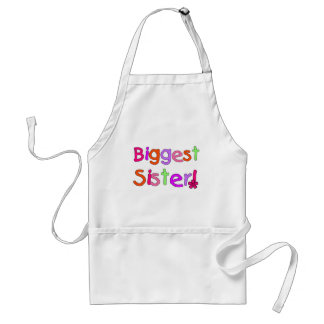 Biggest Sister T-shirts and Gifts Adult Apron