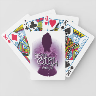 Biggie Girl Swagz Bicycle Playing Cards