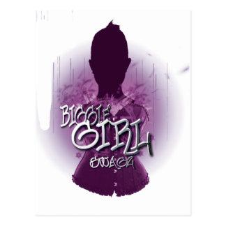 Biggie Girl Swagz Postcards