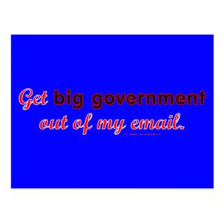 BigGovtEmail Postcard