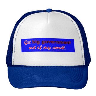 BigGovtEmail Trucker Hat