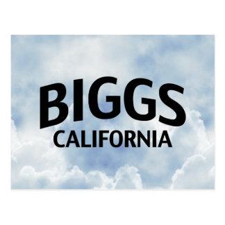 Biggs California Postales