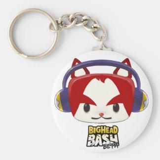 BigHead Bash Plushie Cat Keychain
