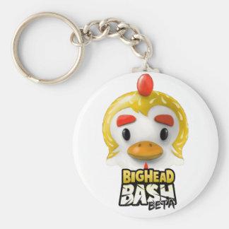 BigHead Bash Plushie Chicken Keychain