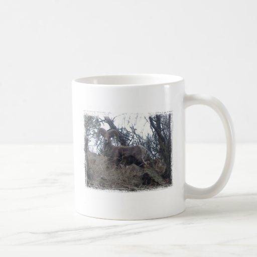 BIGHORN_SHEEP CLASSIC WHITE COFFEE MUG