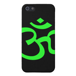 Bight Green Om or Aum ॐ.png Cases For iPhone 5