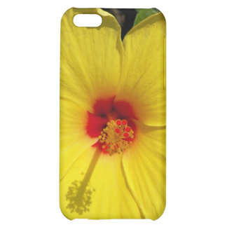 Bight yellow flower phone case cover for iPhone 5C