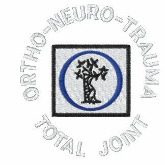 biglogo, ORTHO-NEURO-TRAUMA, JUNTA TOTAL Sudadera Bordada