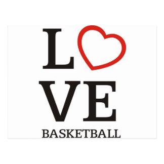bigLOVE-basketball. Postcard