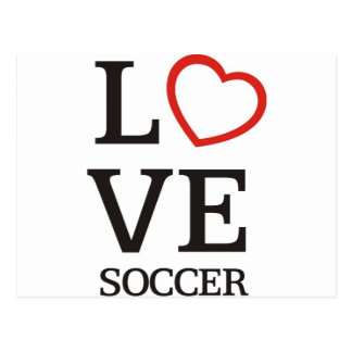 BigLOVE Soccer Postcard
