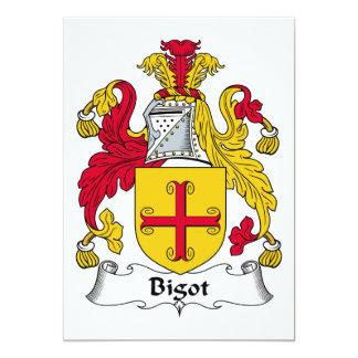 Bigot Family Crest Card