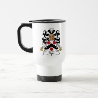 Bigot Family Crest Mugs