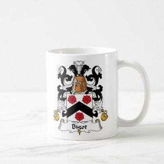 Bigot Family Crest Coffee Mugs