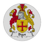 Bigot Family Crest Poker Chips Set