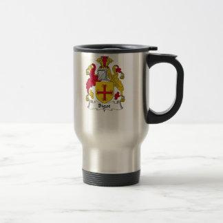 Bigot Family Crest Travel Mug