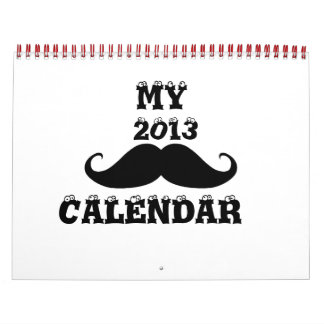 Bigote 2013 calendario de pared