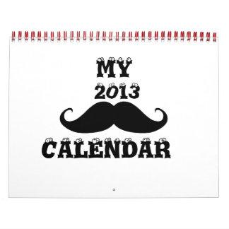 Bigote 2013 calendarios de pared