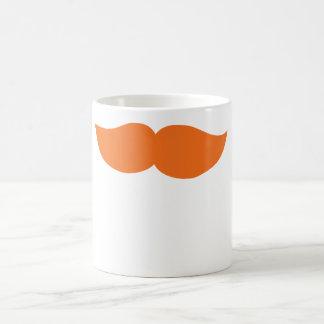 Bigote anaranjado tazas
