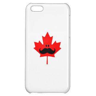 Bigote de Canadá - un bigote en arce rojo