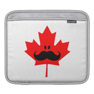 Bigote de Canadá - un bigote en arce rojo Manga De iPad