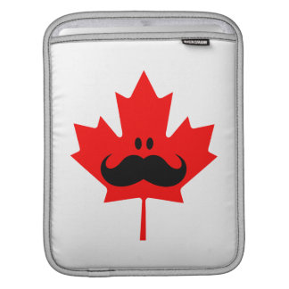 Bigote de Canadá - un bigote en arce rojo Mangas De iPad