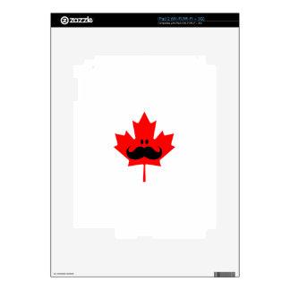 Bigote de Canadá - un bigote en arce rojo iPad 2 Skin