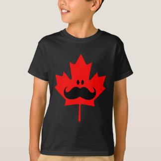 Bigote de Canadá - un bigote en arce rojo Poleras