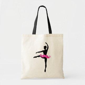 Bigote de la bailarina bolsas lienzo