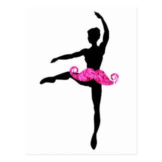 Bigote de la bailarina postal