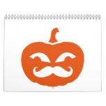 Bigote de la calabaza calendarios