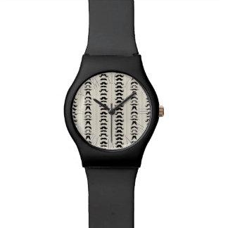 Bigote de moda retro del manillar relojes de pulsera
