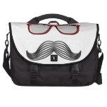 Bigote de moda Stache del bigote del manillar Bolsas De Portatil