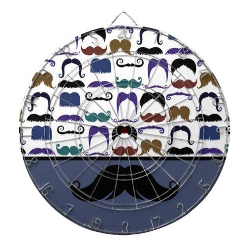 Bigote de moda Stache del bigote del manillar Tablero Dardos