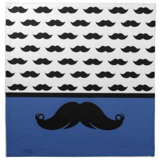 Bigote de moda Stache del bigote del manillar Servilleta De Papel